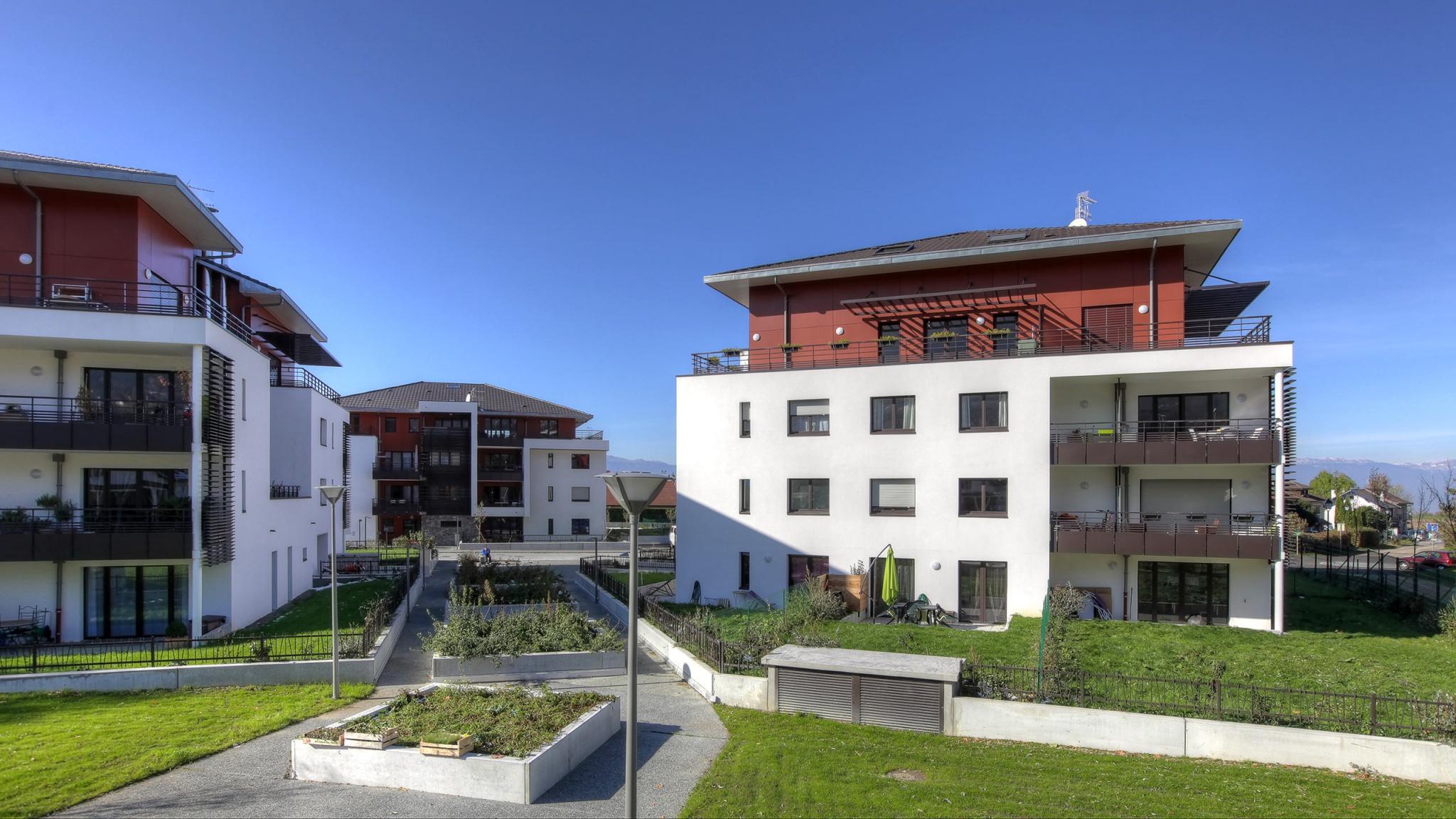 Châble-Beaumont, proche Genève, immobilier neuf