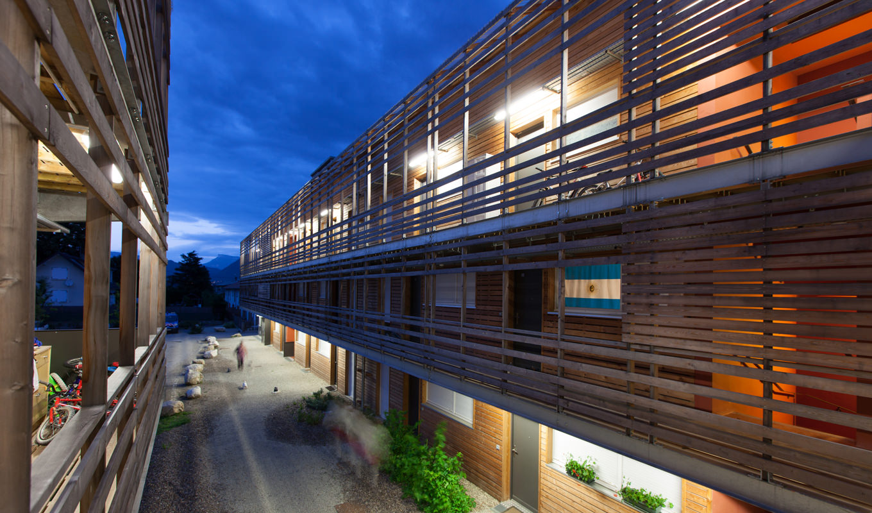Projet immobilier à Chapareillan