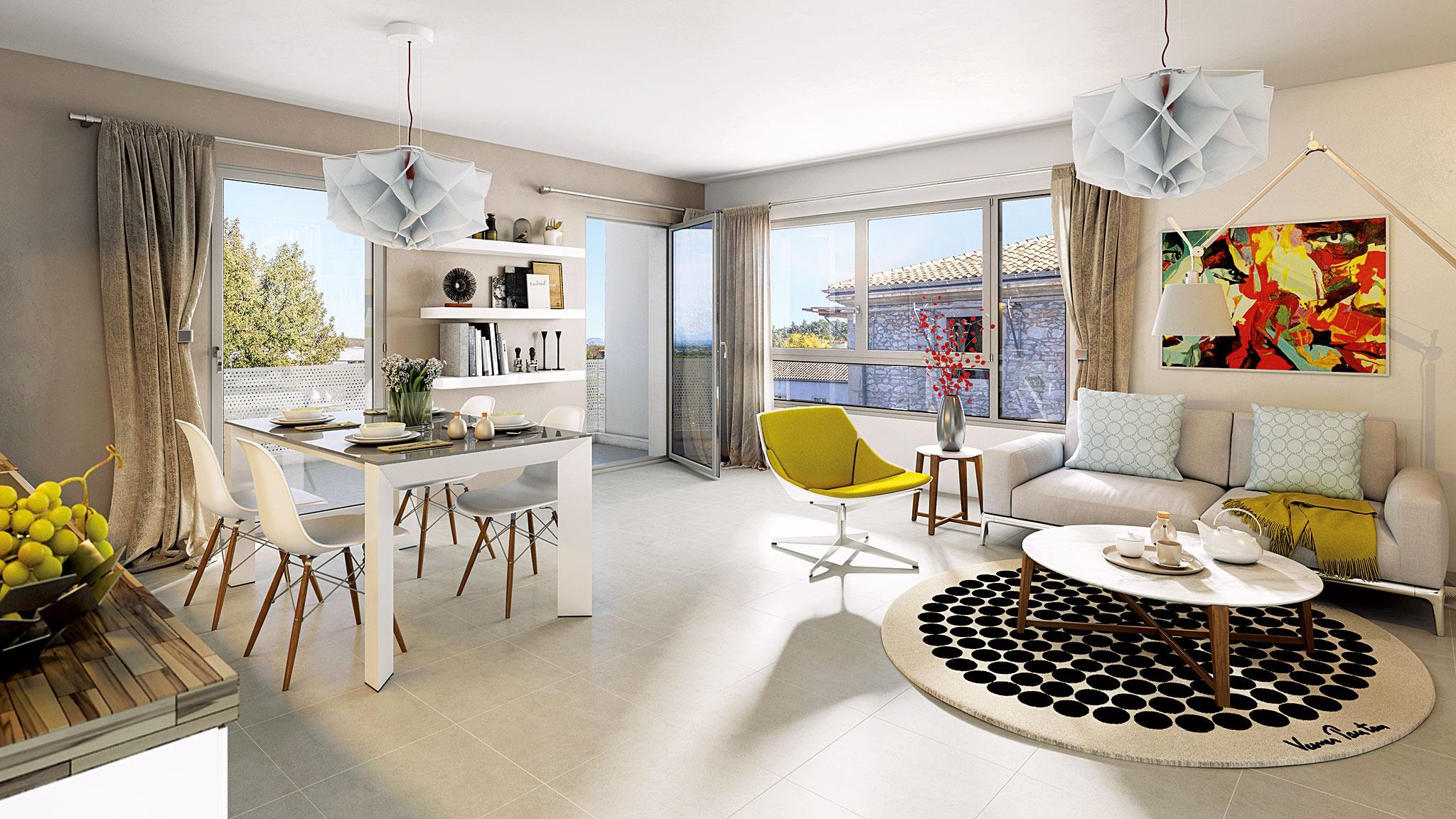 Immobilier nouveau programme neuf à Montélimar