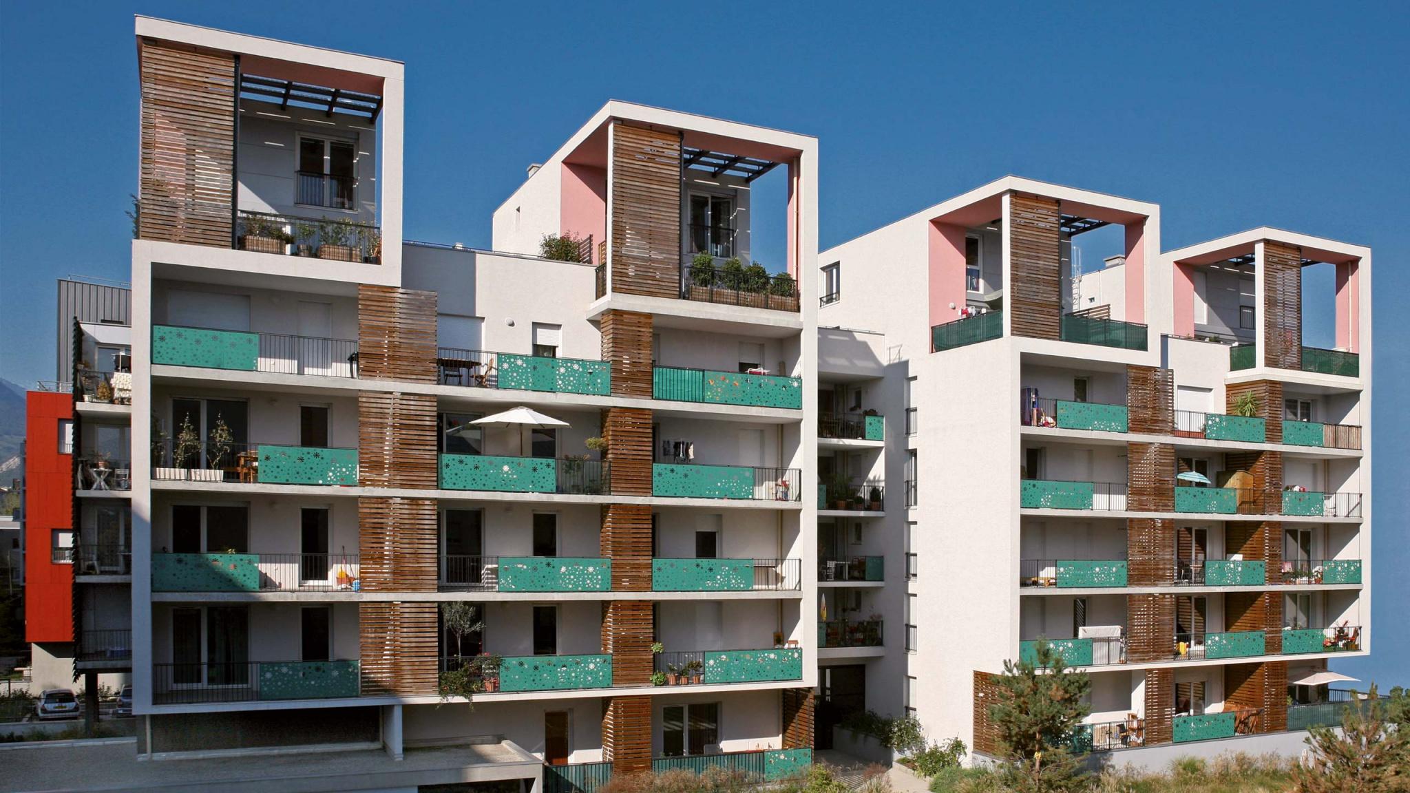 Un projet immobilier d'appartements neufs à Grenoble