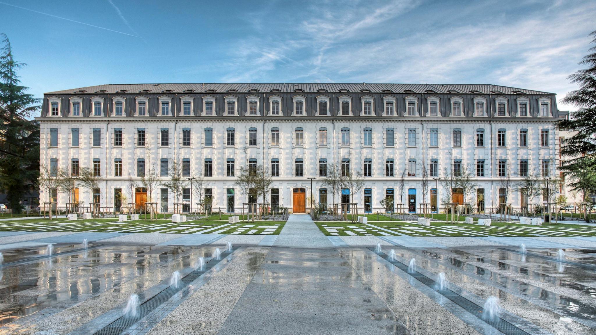 Réhabilitation Caserne à Grenoble, projet immobilier
