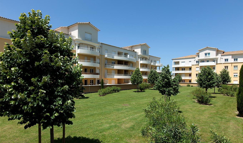 un projet immobilier de résidence dans la Drôme