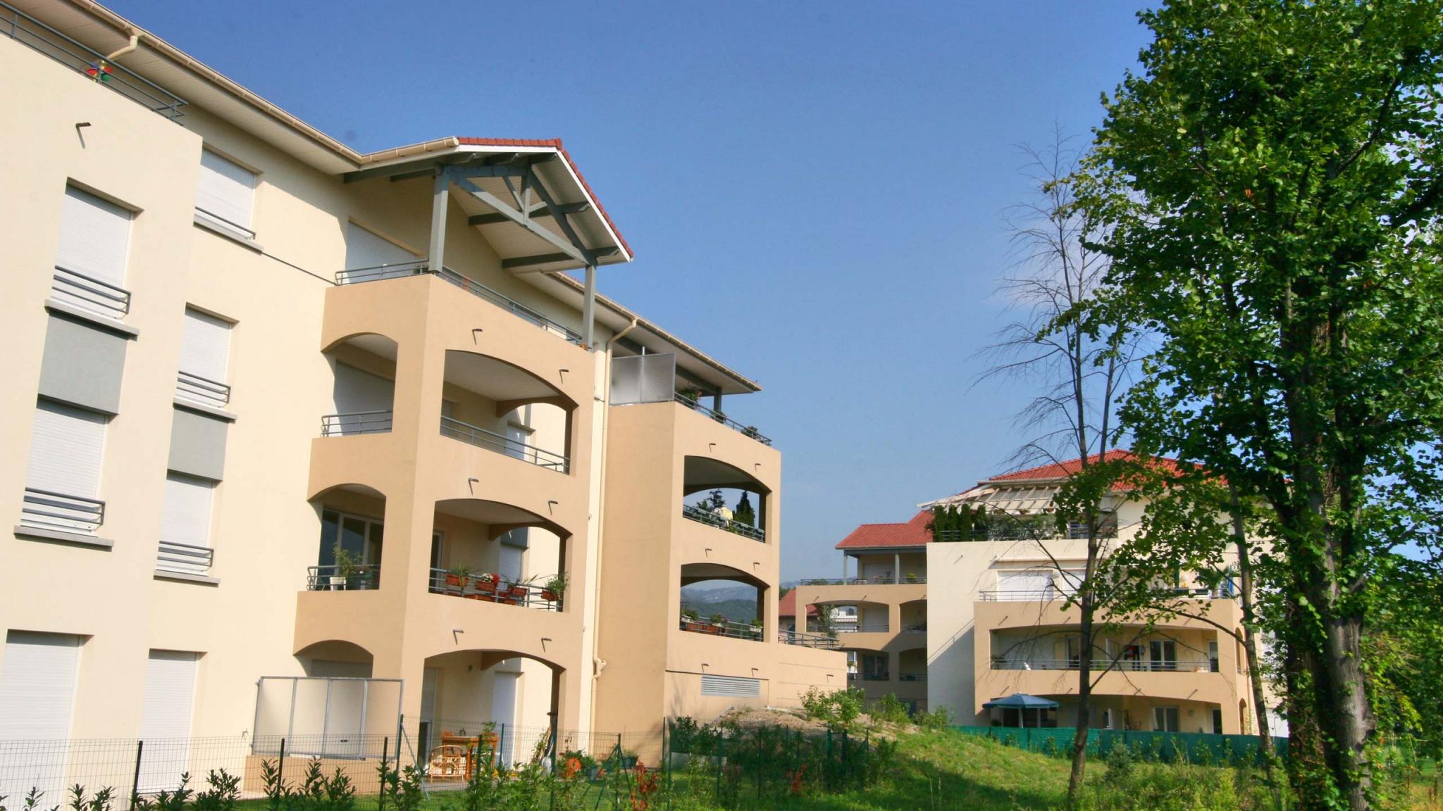 un projet immobilier de résidence sur Sassenage