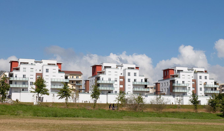 un projet immobilier sur Isle d'Abeau