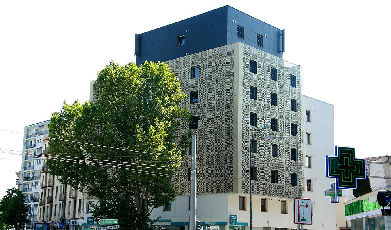 projet immobilier studio à Grenoble