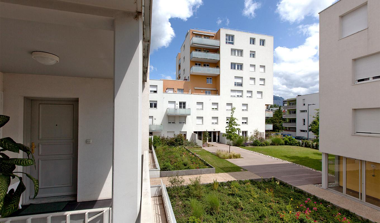 Projet immobilier pour résidence, à Grenoble
