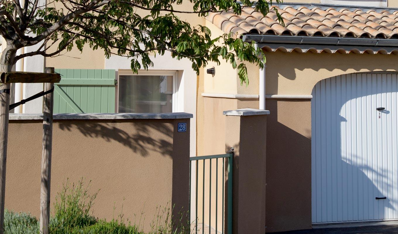 Un projet immobilier de résidence, à Montélimar (26).