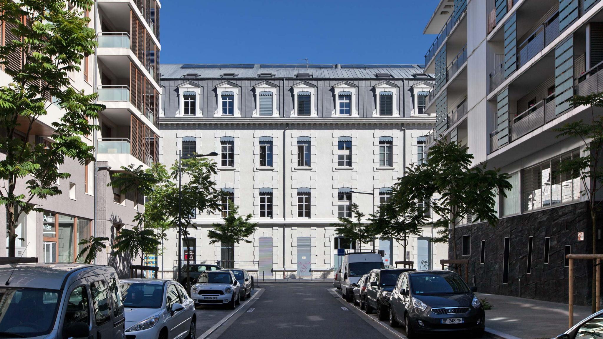 À Grenoble, un projet immobilier de réhabilitation
