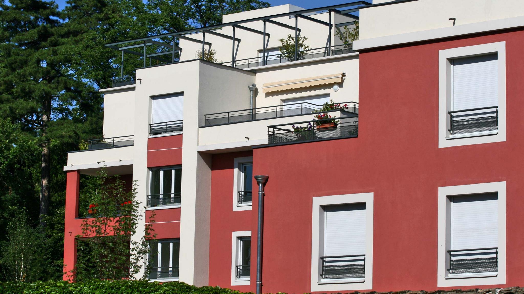 Un projet immobilier de résidence, à Sainte-Foy-lès-Lyon