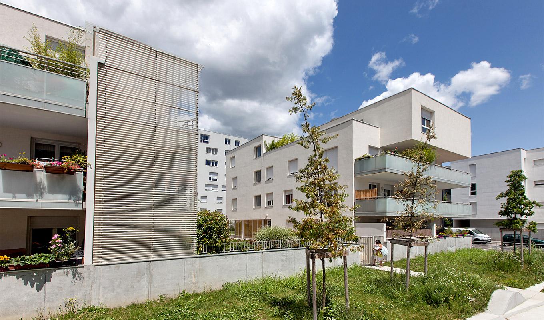 un projet à Grenoble, immobilier neuf pour résidence