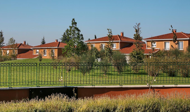 Un projet immobilier de maisons, à Dardilly