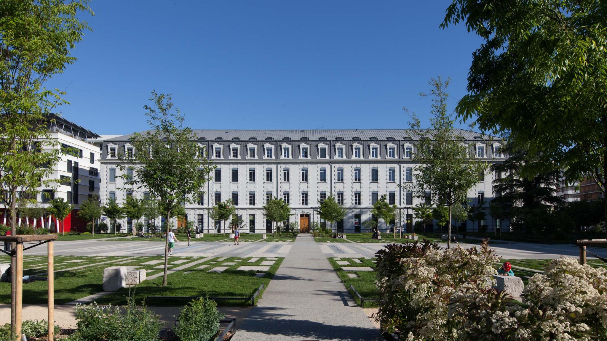 À Grenoble, réhabilitation Caserne projet immobilier
