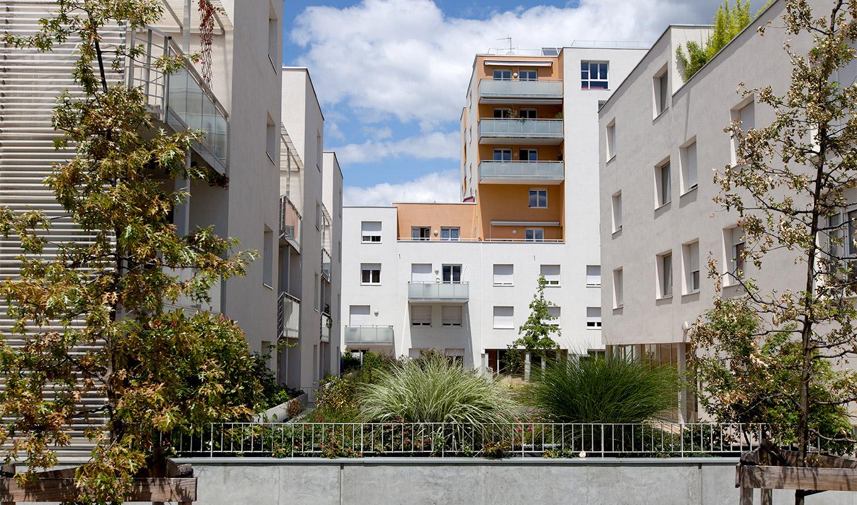 À Grenoble, un projet immobilier, pour appartements neufs