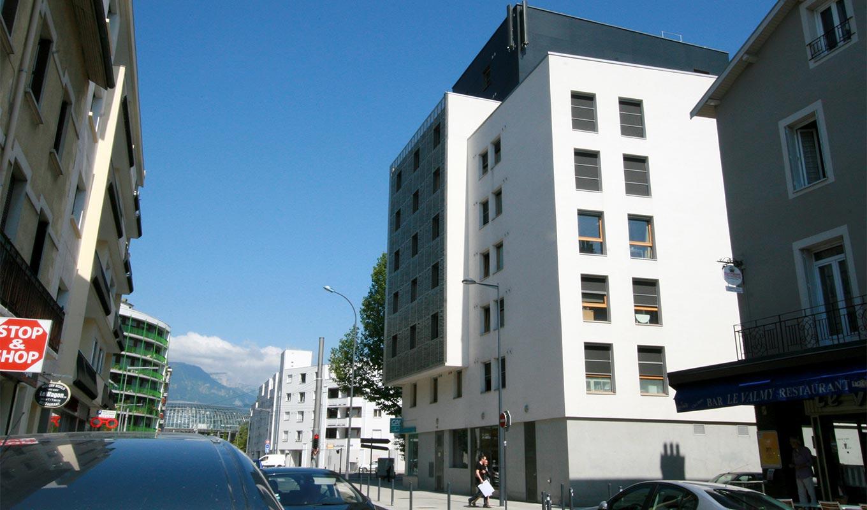 À Grenoble, projet immobilier studio étudiants