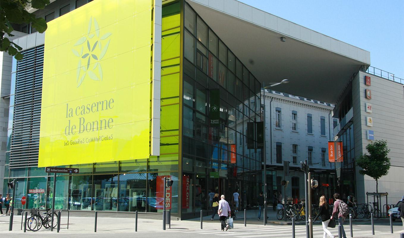 caserne de Bonne projet Grenoble