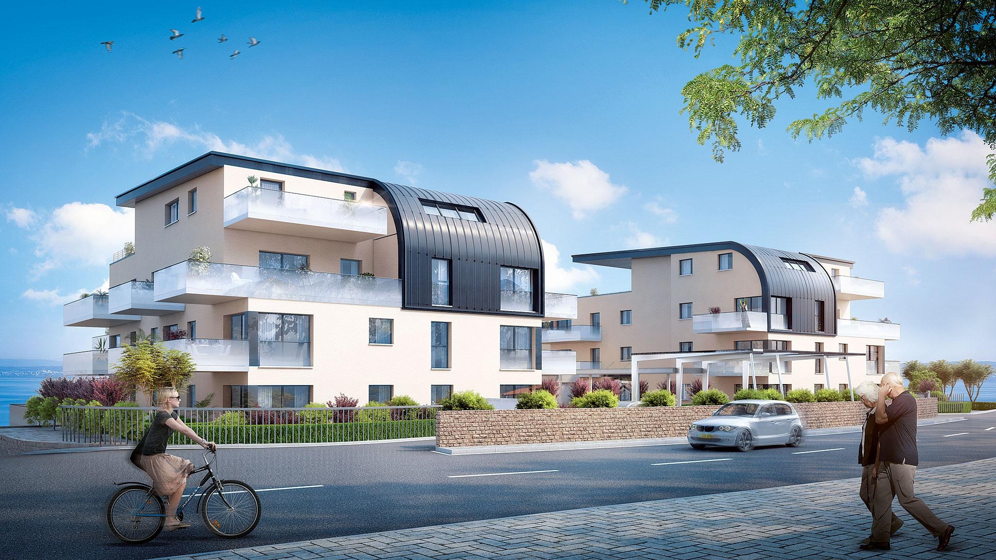Appartements neufs à Évian-les-Bains