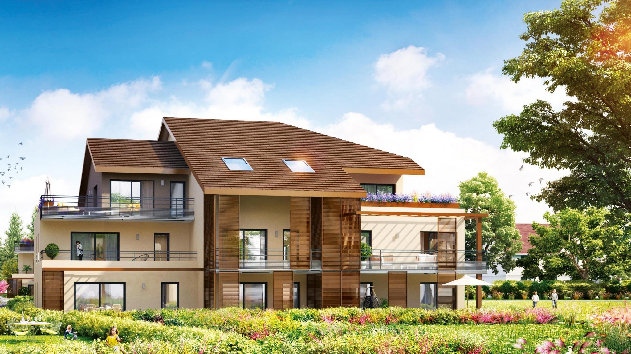Ornex immobilier neuf en vente