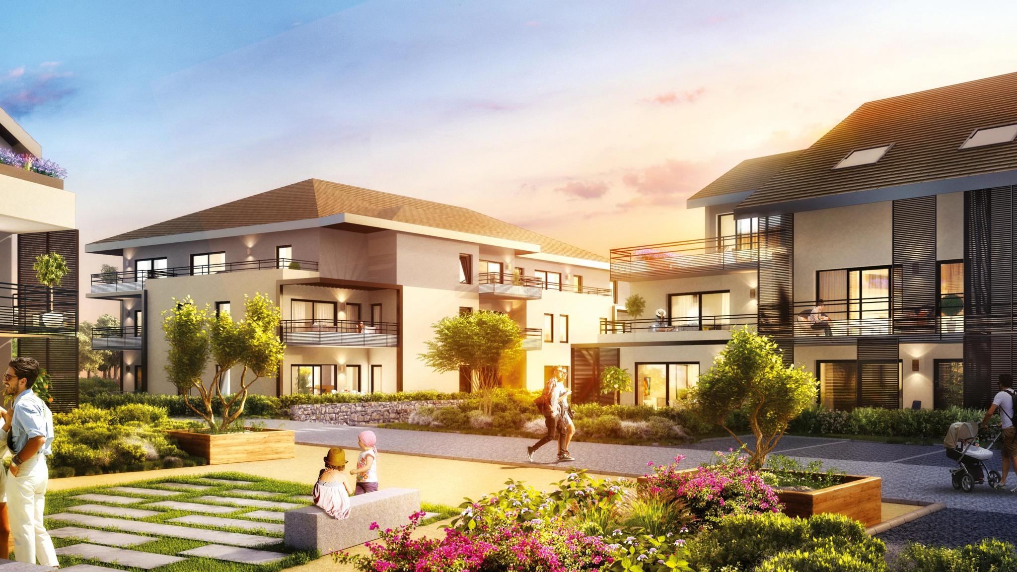 Vente immobilier neuf à Ornex