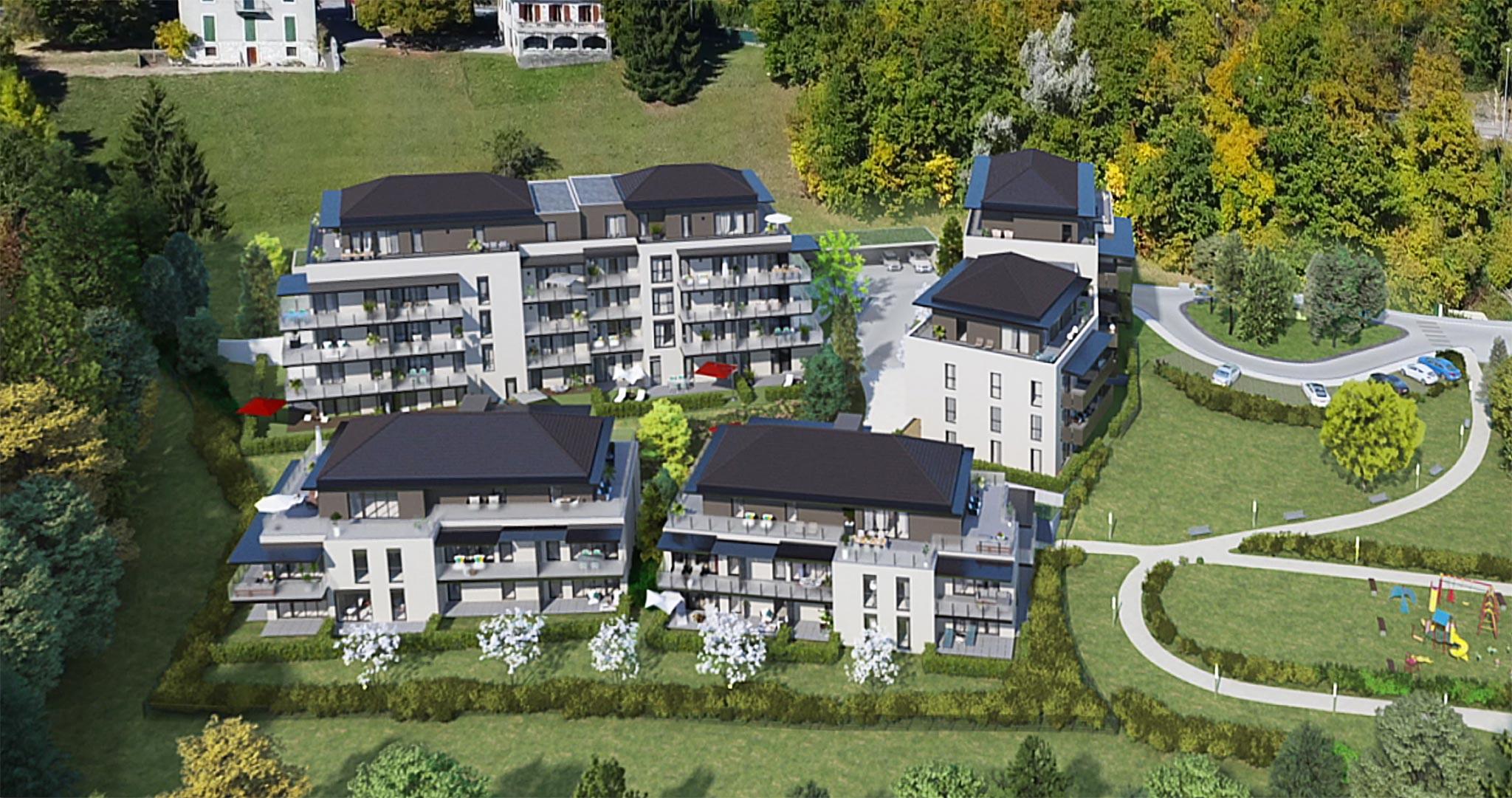 Plan masse PRINGY Annecy
