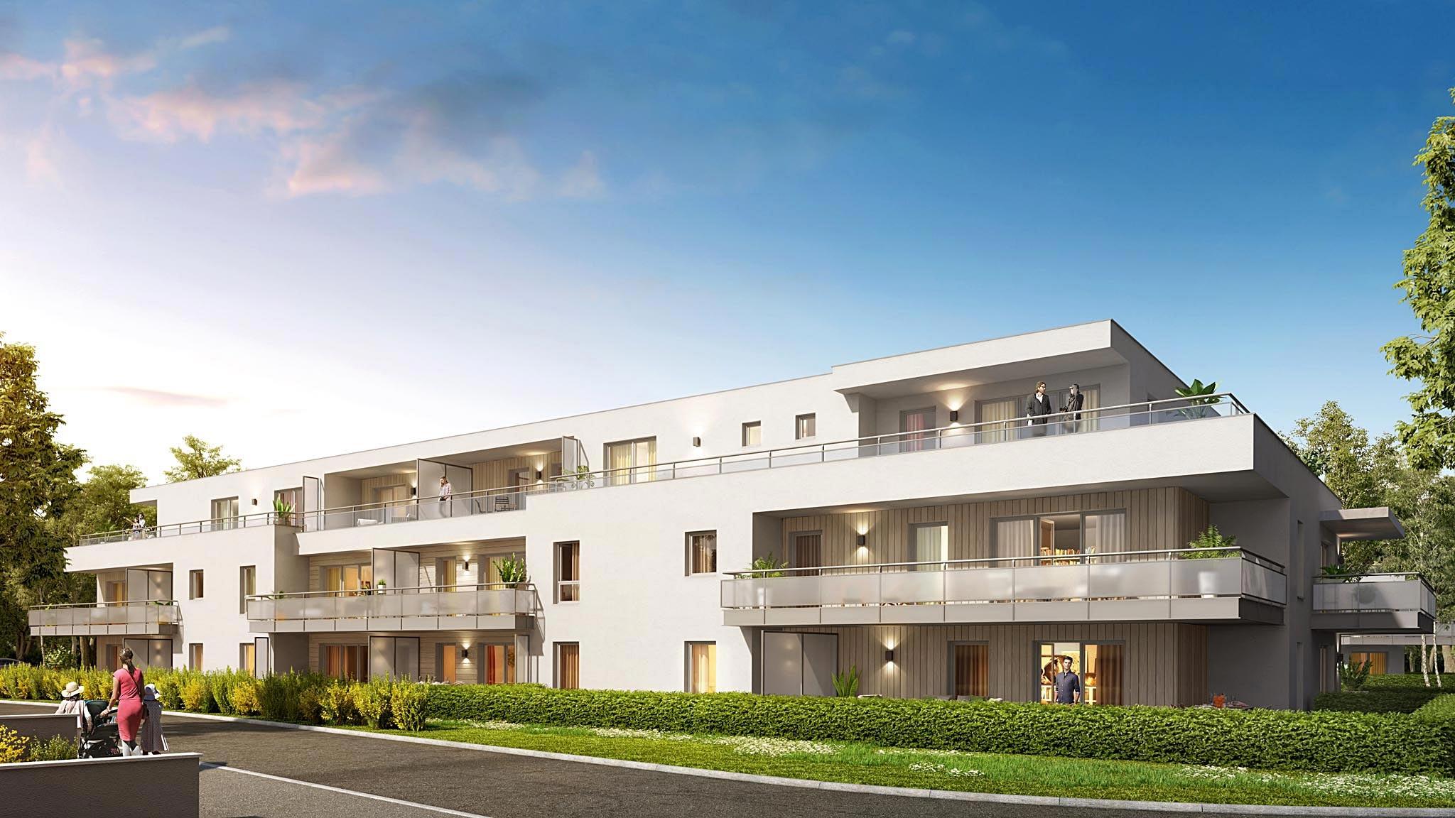Versonnex programme immobilier neuf