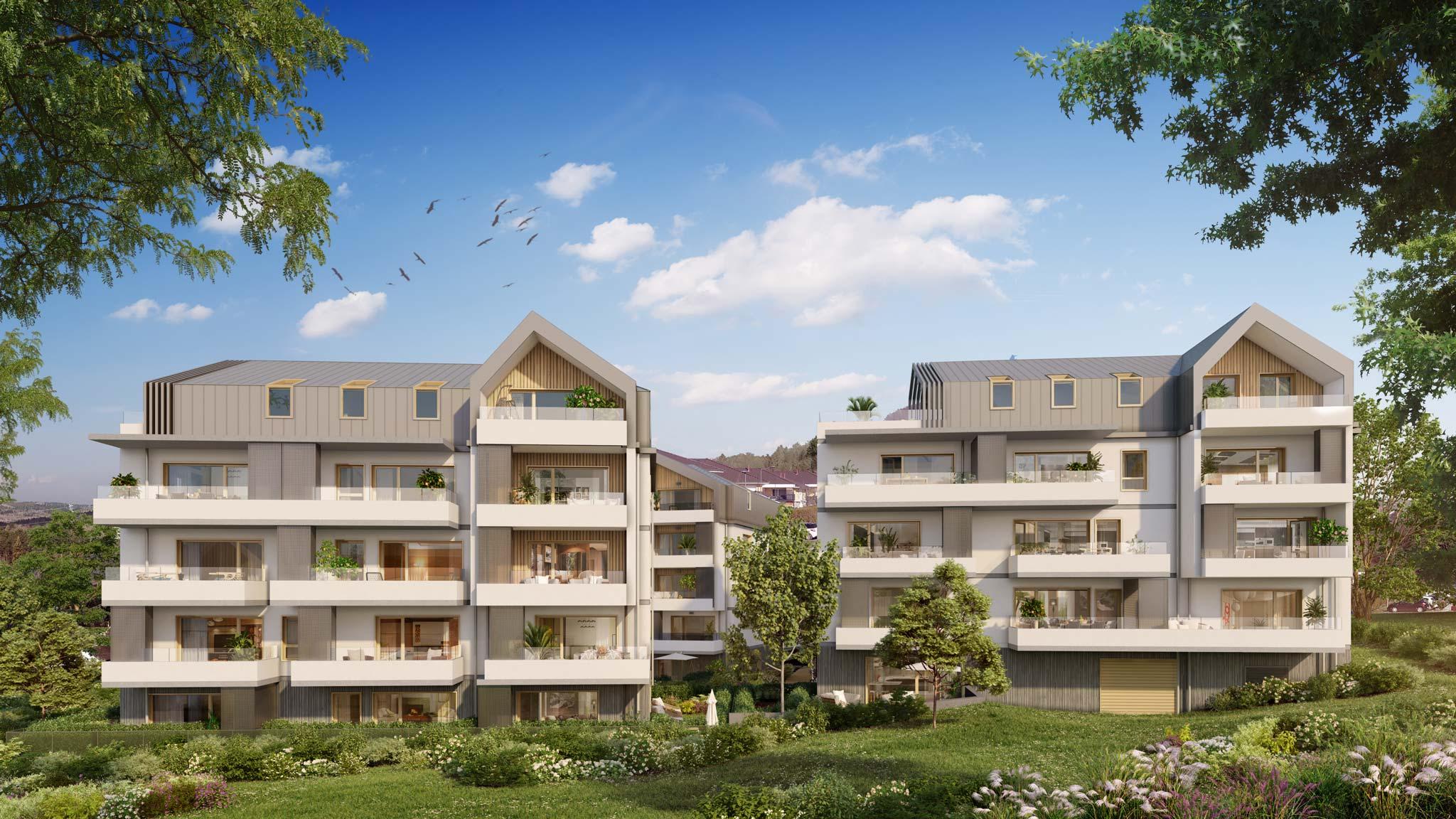 Superbes appartements neufs à Cruseilles 74