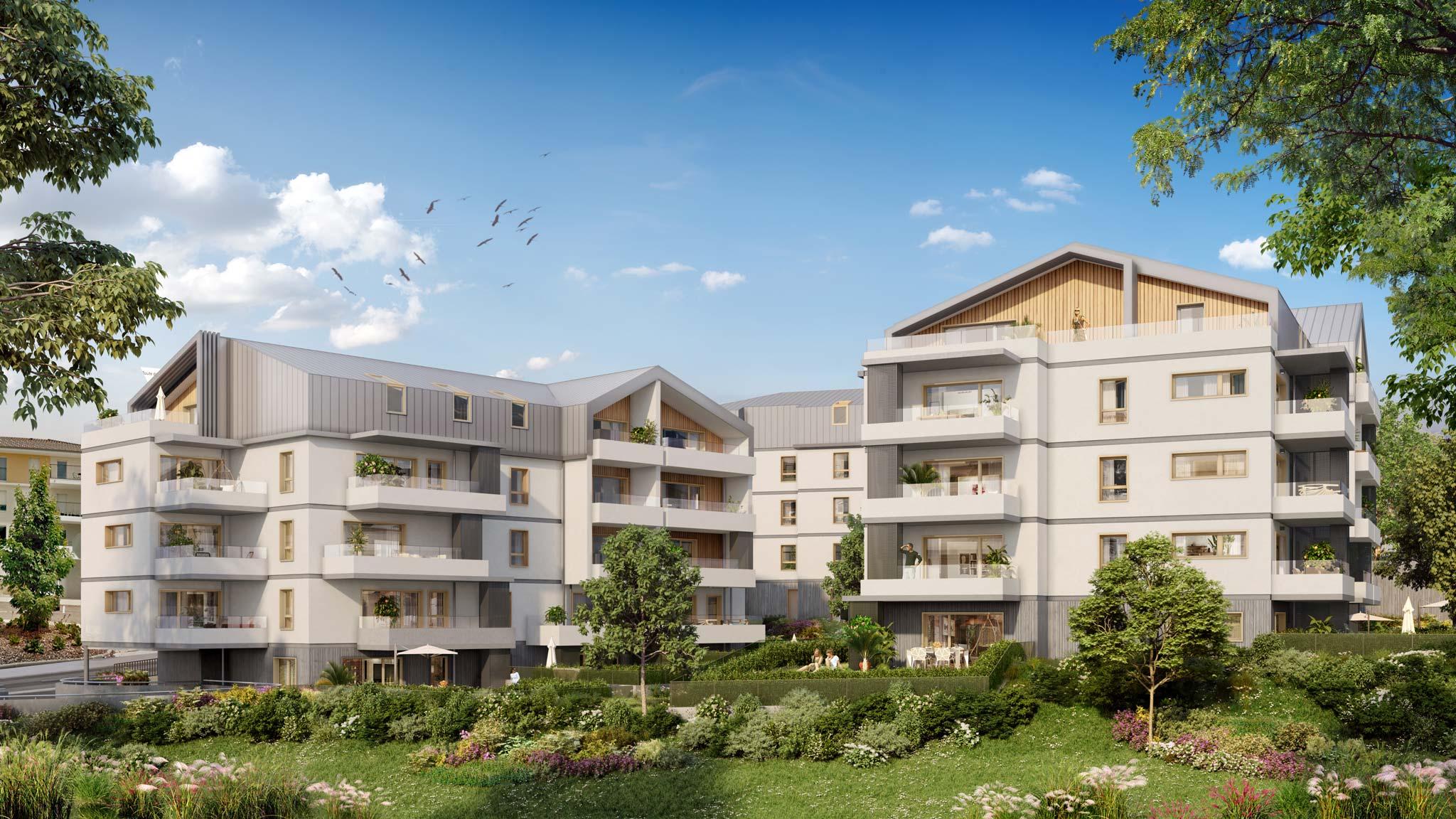 À cruseilles (74) nouveaux appartements neufs