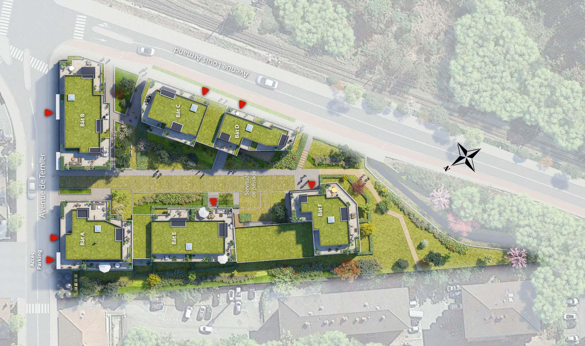 Plan interactif Saint-Julien en Genevois